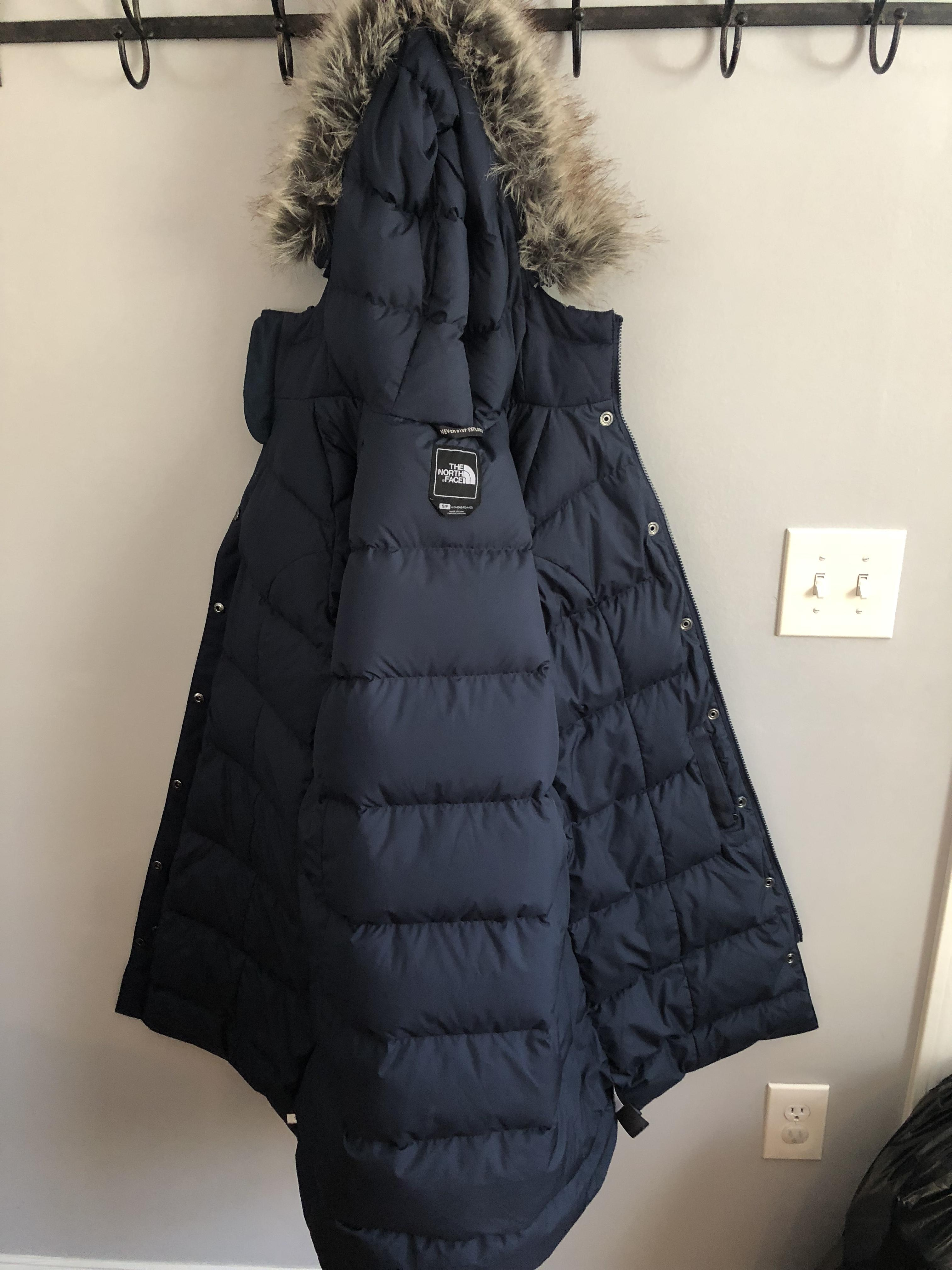 4bf721ae95 ... arctic down  the north face for her medium urban navy jacket. 123456