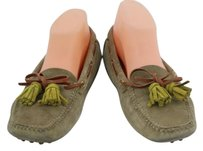 The Original Car Shoe Womens Taupe Flats