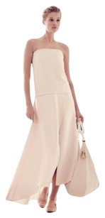 The Row Barnabe Crepe Layered Gown Dress