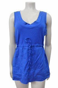 Theory Sleeveless Top Royal Blue