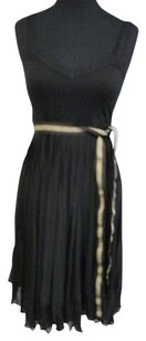 Black Maxi Dress by Theory Pleated