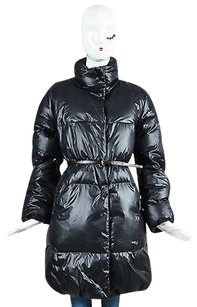 Theory Zip Front Belted Coat