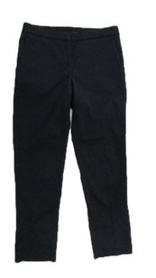 Theory Textured Pattern Tapered Leg Mid Rise Slacks 0 Pants