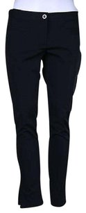 Theory Womens Black Casual Trousers Cropped Skinny Jeans