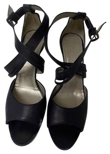 Theory Strappy Black Pumps