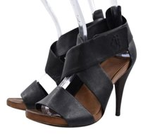 Theory Womens Strappy Black Pumps