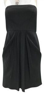 Tibi Strapless Empire Gathered Pleated Dress