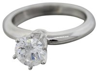 Tiffany & Co. Authentic Tiffany & Co. D-VVS1 GIA Platinum 1ctw Solitaire Round Engagement Ring