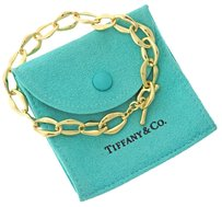 Tiffany & Co. Authentic Tiffany & Co. Elsa Peretti Aegean 18K Gold Chain Bracelet