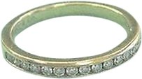 Tiffany & Co. Tiffany,Co,18kt,Diamond,Channel,Set,Band,Sz,6.5,2.5mm