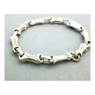 Tiffany & Co. Sterling Silver Fragmented Bamboo Bracelet