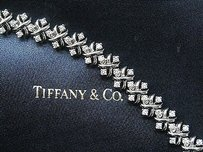 Tiffany & Co. Tiffany,Co,Platinum,Jean,Schlumberger,Lynn,Diamond,Bracelet,2.68ct