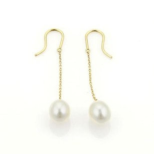 Tiffany & Co. Tiffany Co. Elsa Peretti Pearls By The Yard Earrings In 18k Yellow Gold