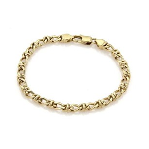 Tiffany & Co. Tiffany Co. 18k Yellow Gold Fancy Chain Link Bracelet