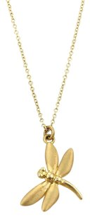 Tiffany & Co. Tiffany Co. 18k Yellow Gold Dragonfly Pendant Necklace