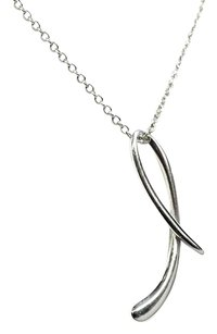 Tiffany & Co. Elsa Peretti Drop Necklace Sterling Silver Tiffany & Co.