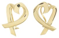 Tiffany & Co. Tiffany & Co Women's 18k Yellow Gold Paloma Picasso Heart Earrings