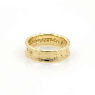Tiffany & Co. Tiffany Co. 1837 Collection 18k Yellow Gold 6mm Band Ring