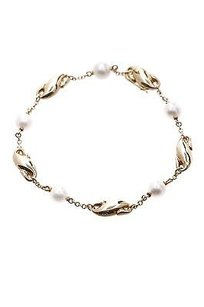 Tiffany & Co. Tiffany Co. 18k Yellow Gold Elsa Peretti Pearl Bracelet