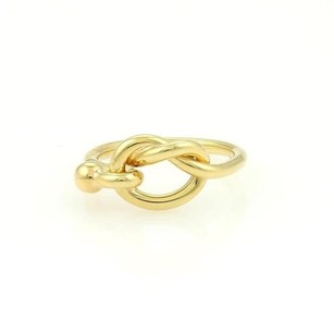 Tiffany & Co. Tiffany Co. 18k Yellow Gold Hook Eye Ring