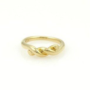 Tiffany & Co. Tiffany Co. 18k Yellow Gold Semi Twisted Rope Band Ring