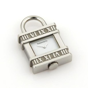 Tiffany & Co. Tiffany Co. Atlas Padlock Design Stainless Steel Watch Charm Pendant