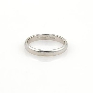 Tiffany & Co. Tiffany Co. Platinum 3mm Wide Plain Dome Wedding Band Ring