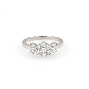 Tiffany & Co. Tiffany Co. Platinum Diamond Blossom Ring -