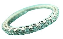 Tiffany & Co. Tiffany Co. Shared Setting Full Circle .86 Diamond Platinum Wedding Ring