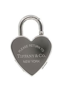 Tiffany & Co. Tiffany Co. Stainless Steel Return To Tiffany Heart Watch Charm