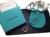 Tiffany & Co. Tiffany Elsa Peretti Medium Open Heart Necklace