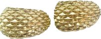 Tiffany & Co. Tiffany,Co,14kt,Yellow,Gold,Huggie,Earrings,23.5mm