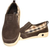 Timberland Suede Sneaker Eu 37 Earthkeepers brown with plaid trim Flats