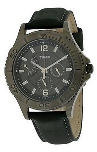 Timex Timex Leather Mens Watch T2p178