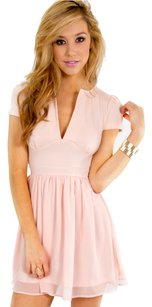 Tobi short dress Light Pink on Tradesy