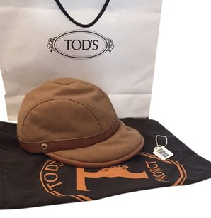 Tod's TOD'S Leather Equestrian Horse Riding Hat