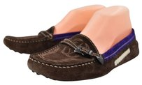 Tod's Tods Womens Color Block Brown Flats