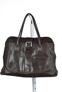 Tod's Tods Womens Shoulder Satchel in Brown