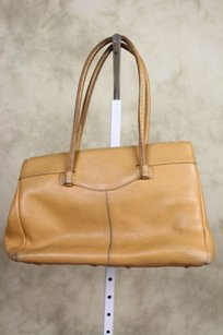 Tod's Tods Womens Satchel in Tan