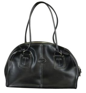 Tod's Tods Womens Leather Shoulder Bag