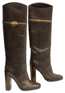 Tom Ford Knee High Brown Boots