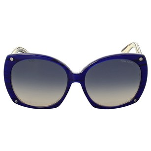 Tom Ford New Tom Ford Gabriella Round Gradient Sunglasses