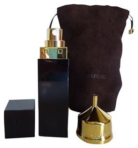 Tom Ford Tom Ford Official 20ml Refillable Atomizer w/brown Suede Drawsting Pouch & Gold Funnel