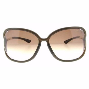 Tom Ford Tom Ford Raquel Shiny Brown Gradient Women's Soft Square Sunglasses