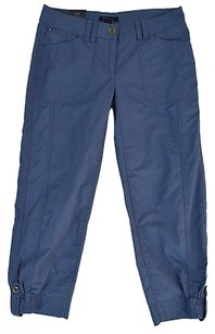 Tommy Hilfiger Womens Slate Capri/Cropped Pants Blue