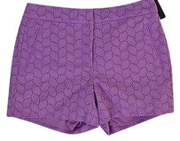 Tommy Hilfiger Womens Milk Shorts Purple