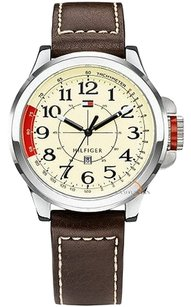 Tommy Hilfiger Tommy Hilfiger 1790844 Stainless Steel Sport Watch with Leather Band