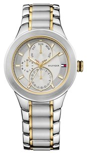 Tommy Hilfiger Tommy Hilfiger Men's 1710293 Classic Multi Eye Two tone Watch