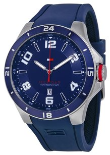 Tommy Hilfiger Tommy Hilfiger Men's 1790862 Sport Bezel and Silicon Strap Watch
