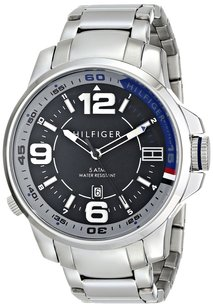 Tommy Hilfiger Tommy Hilfiger Men's 1791012 Analog Display Quartz Silver Watch